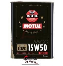 Motul engine oil 15w50 semi-synthetic multigrade, for classic cars